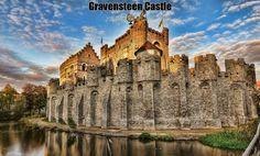 Gravensteen Castle: Medieval Fortification in Belgium | via @learninghistory
