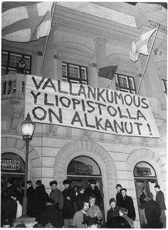 Vanhan ylioppilastalon valtaus vuonna 1968 oli nuorten radikaalien voimannäyte.