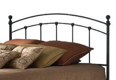 Amazon.com - Fashion Bed Group Sanford Queen Size Headboard in Matte Black Finish