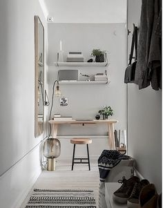 Workspace with Grey Walls | PLANETE DECO