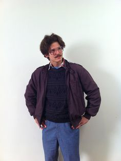 Jacket AND Sweater combo vintage awesomeness by FistfulOfVintage, $39.95