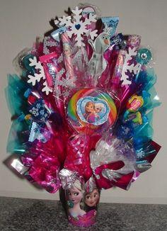 FROZEN Candy Bouquet Centerpiece Includes 3D Olaf by CandyFlorist, $28.95