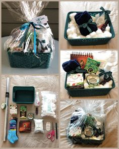 Self Care Kit / Gift Basket  #theclaybunnydiary  Personalized gift baskets and care packages have become one of my favorite projects. From Self-Care Packages and Fairy Garden Kits, I love putting these together for people in my life. Gift Baskets For Women, Mother's Day Gift Baskets, Basket Gift, Mothers Day Baskets, Spa Basket, Mothers Day Gifts From Daughter, Christmas Gift Baskets, Creative Gifts, Cool Gifts