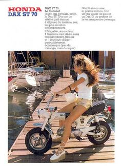 Advertisement+Honda ST70 (French)