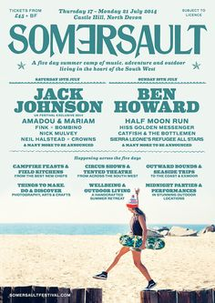 For an immersive fitness experience in the great outdoors, head to Somersault Festival in North Devon and sample an impressive variety of activities. Make this serene setting your home for the weekend and book in for everything from horse riding, coastal rafting, beach yoga, rock climbing, surfing and flying trapeze. Best save up your energy...