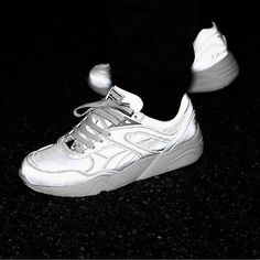 Sizes still available for the amazing ICNY x PUMA Trinomic R698 Pack Silver  http://ift.tt/1OhWWsl