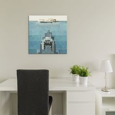 """Jaws (18""""W x 18""""H x 0.75""""D)"""