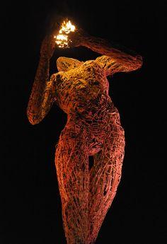 Karen Cusolito's remarkable sculptures