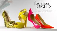 color color color. shoes shoes shoes.