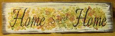Home Sweet Home Hydrangeas Sign