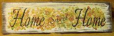 Home Sweet Home Hydrangeas Sign