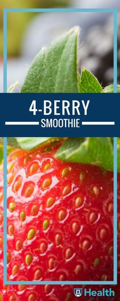 Smoothies are the new and tasty way to sneak fruits and vegetables into your everyday diet. Mix up this easy 4-Berry Blast Smoothie, packed with vitamin C.