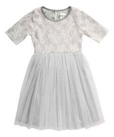 Lace dress 2t footed