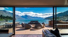 For those who demand the height of excellence, The Penthouse is the ultimate in luxury and sophistication. Overlooking the shores of Lake Wakatipu and surrounds, The Penthouse tops the iconic Eichardt's Private Hotel in pure indulgence. New York Penthouse, New Zealand Hotels, New Zealand Travel, Hotels And Resorts, Best Hotels, Luxury Hotels, Luxury Lodges, Luxury Travel, New Zealand