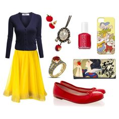 Snow White-Inspired Outfit