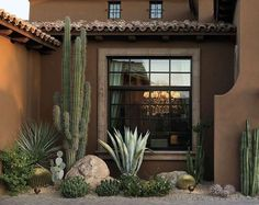41 Favorite Dry Garden Landscaping You Must Have - Casas de México - Cactus