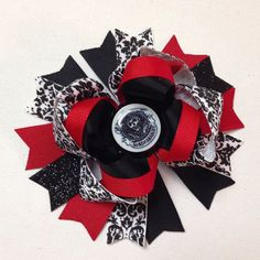Sons of Anarchy Inspired Hairbow on Etsy, $10.00