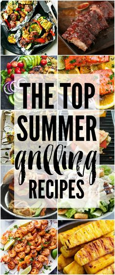 The BEST grilling recipes from around the web all in one place! Fire up the grill and get ready to make some of the most delicious recipes that are going to wow your family!