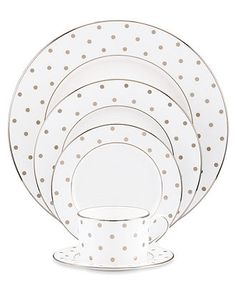 kate spade new york Dinnerware, Larabee Road 5 Piece Place Setting - Fine China - Dining & Entertaining -