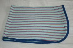 Gerber Baby Boy Blanket THERMAL WAFFLE WEAVE Blue Red White Lime Green Stripe #Gerber Baby Receiving Blankets, Baby Boy Blankets, Thermal Blanket, Gerber Baby, Green Stripes, Waffle, Red And White, Weave, Lime