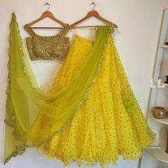 Half Saree Lehenga, Lehnga Dress, Net Lehenga, Lehenga Blouse, Indian Lehenga, Simple Lehenga Choli, Floral Lehenga, Bollywood Lehenga, Bollywood Wedding