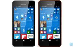 #Microsoft Lumia 550 running Windows 10 Mobile leaks online - #Lumia550 #Windows10