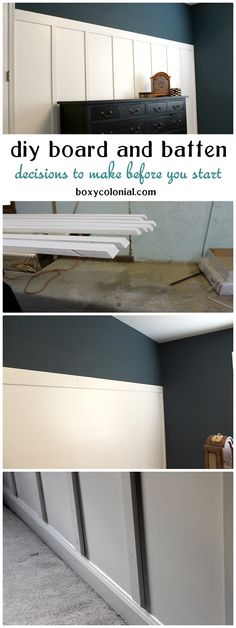 Farmhouse Trim Baseboards Board And Batten 58 Trendy Ideas Home Renovation, Home Remodeling, Farmhouse Trim, Farmhouse Style, Do It Yourself Inspiration, Moldings And Trim, Crown Molding, Moulding, Wall Trim
