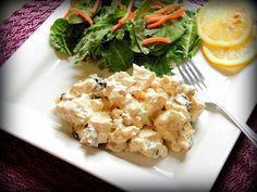 The Seasoned Chef : Curry Turkey Salad YUMMY + GLUTEN FREE!!  www.theseasoned-chef.blogspot.com