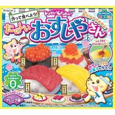 Popin Cookin Sushi Kit Kracie Happy Kitchen Japan Poppin Cooking Where to Buy | eBay