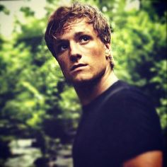 Josh Hutcherson... Ladies, he might be young, but watch out for this hottie!  That jawline and that body...:)