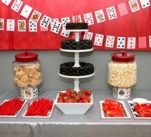 Vegas themed Birthday Dessert table