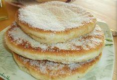 Greek Desserts, Greek Recipes, Greek Cooking, Doughnut, Pancakes, Food And Drink, Sweets, Breakfast, Breads