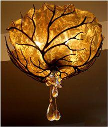 Bloominglites unique lighting and custom design