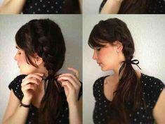 ظفائر الشعر العشوائية بالصور #تسريحات
