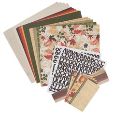 Thanksgiving Bountiful Blessings Designer Collection This collection includes one package of each of the Thanksgiving Bountiful Blessings Designer products: Designer Cardstock, Solid Cardstock, Border Strips, Journal Cards, Refill Pages (Creme Linen) and Alphabet Stickers. Products may also be purchased separately.