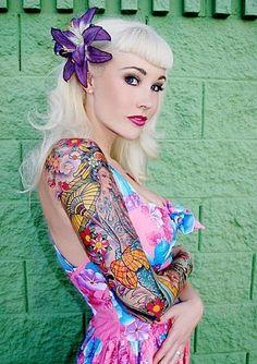 Sabina Kelley - Rockabilly pin-up style