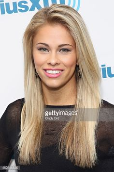 ufc mma fighter <b>paige vanzant</b> visits the siriusxm studios on april ...
