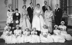 1960 ~ Princess Margaret, the sister of Queen Elizabeth II, wedded photographer Antony Armstrong-Jones on May 6 1960 at Westminster Abbey.