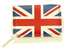 Ladies Union Jack Wallet Purse & Credit Card Holder - Great Gift Idea For Her Neptune Giftware. $12.99