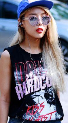 Yubin (Wonder Girls) - she is my fashion idol right now