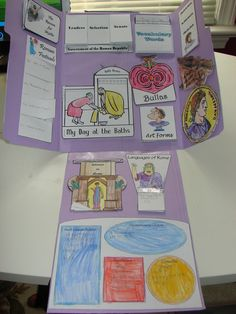 Ready to study Ancient Rome?  In the Hands of a Child has a whole line of lapbooks on ancient civilizations!