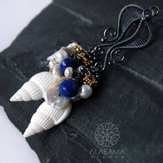 Aphrodite  exclusive sterling silver wire wrapped by AlabamaStudio