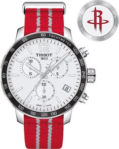590253dc1666 Tissot Watch Quickster NBA Houston Rockets Fans will be able to wear the  Tissot Quickster NBA