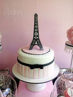 Torta inspiración Paris