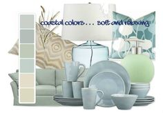 Coastal Colors HAD to be my first color palette design on Olioboard. Coastal Colors, Coastal Style, Coastal Decor, Coastal Rugs, Coastal Bedding, Coastal Paint, Aqua Decor, Coastal Curtains, Coastal Entryway