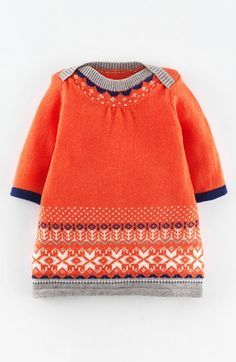 Free shipping and returns on Mini Boden 'Fair Isle' Knit Dress (Baby Girls) at Nordstrom.com. A colorful Fair Isle pattern makes this soft and comfy knit sweater-dress a cold-weather classic.