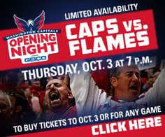 Caps Opening Night Tickets! See you there!  Let's Go Caps!
