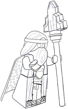 Coloriage Fortnite Battle Royale personnage 4 à imprimer