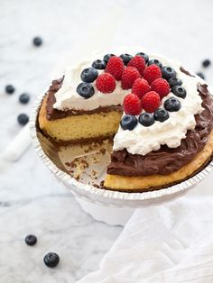 Chocolate Mousse Cake: http://www.stylemepretty.com/living/2014/07/01/15-recipes-for-the-4th-of-july/