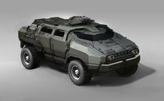 concept vehicles | Concept cars and trucks: Military vehicle concepts by Sam Brown